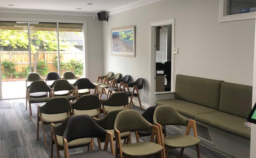 BFWC waiting room 2019